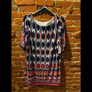 Eliza J Plus Size Sheath Midi Dress, 20W